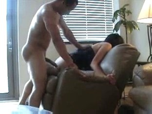 Big tits wife screwed from behind