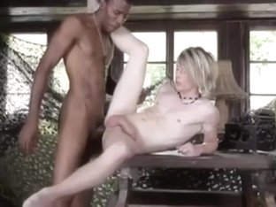 Vintage Video, Teen Gets Fucked By Monster Black Dicks