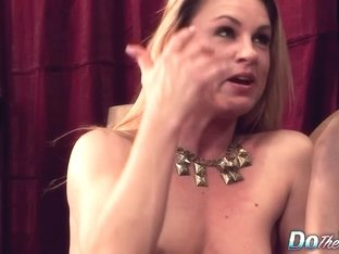 White Wife Amanda Blow is Boned by a Black Dude as Her Husband Watches