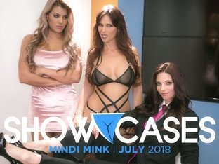 Syren De Mer & Mercedes Carrera in Showcases: Mindi Mink - 2 Scenes in 1, Scene #01 - GirlsWay