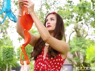 Cassidy Klein In Hung Out To Dry