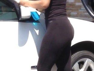 Latina see thru leggings vid1