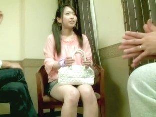 Slutty Jap gets crammed in Japanese hardcore video