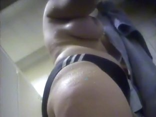Mature woman in the changing room