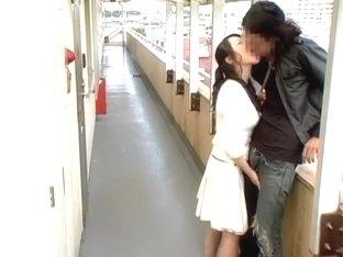 Crazy Japanese model Natsumi Horiguchi in Best Outdoor JAV clip