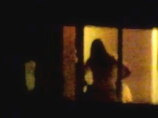 Hotel Window at Night