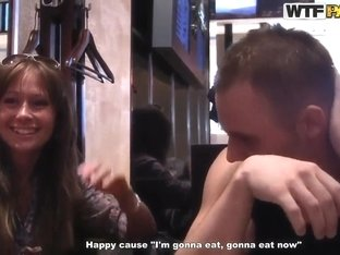 Fellow seduces amateur hottie to fuck for cash