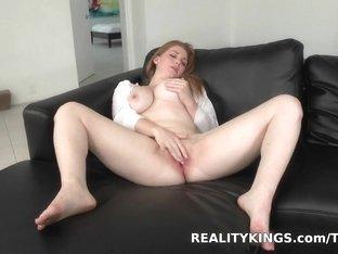 Exotic pornstar in Fabulous Facial, Masturbation adult movie