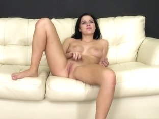 Sultry girl with perky tits Marley can't get enough of a hard fucking