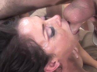 Cock addicted Savannah Stern does mind blowing head