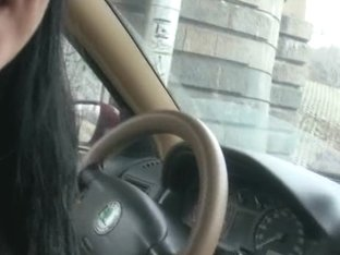Fucking hawt legal age teenager taxi driver in the cab