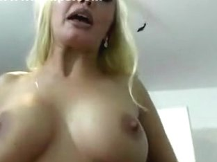 My huge juggs look sexy in the amateur blonde clip