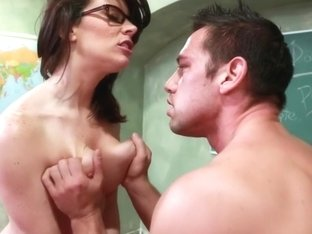 Dallas & Johnny Castle in My First Sex Teacher