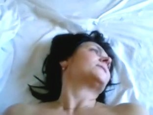 Horny aged brunette hair wife make fantastic fucking session sunday night,damn