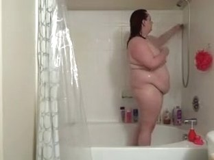 large appealing mother Enema & Shower Part 1