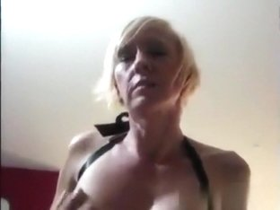 Breasty golden-haired mother i'd like to fuck treats my rod perfectly