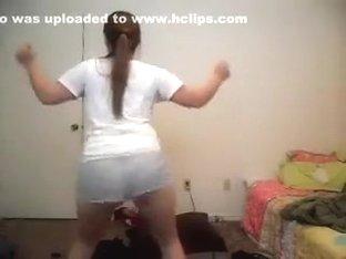 Hottest ass pop web camera taut raiment record