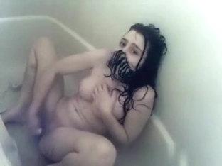 Sexy shower masturbation for my old mandy