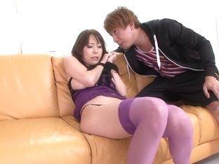 Fabulous Japanese girl Akari Asagiri in Incredible JAV uncensored Lingerie video