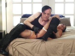 Best fetish adult movie with amazing pornstar London River from Kinkuniversity