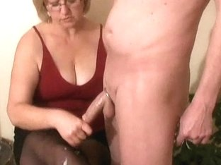 Girl next door handjob