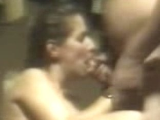 This bitch can do well just one thing it is blowjob