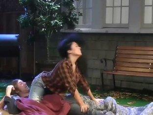An Outdoor Couple