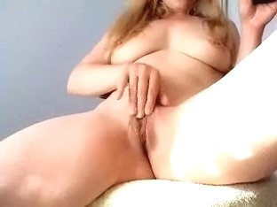 Horny and depraved redhead roommate made a movie scene while shaving her pussy