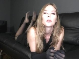 silk gloves teasing & smother