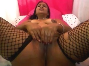 Lalin beauty mature i'd like to fuck widens a-hole, fingers soaked crack, and cums on web camera