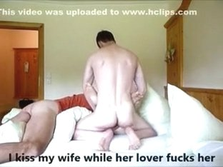 Hubby watches wife with a juvenile paramour