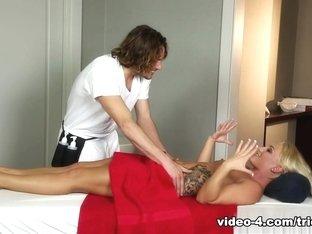 Amazing pornstars Cali Carter, Tyler Nixon, Tommy Gunn in Incredible Blonde, Big Ass xxx clip
