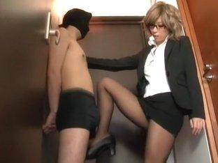 Incredible Japanese whore Haru Sakuraba in Exotic Fetish, Femdom JAV movie