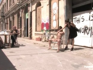 Susana Abril Fully Nude in Central Square