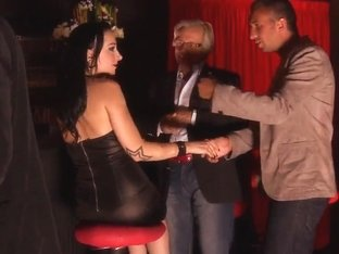 Private dance with a little bit of blowjob
