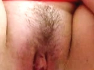 Lewd older plays with her marital-device close-up