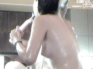 Merry Asian vixens show off their hottest tits on spy cam dvd 03062