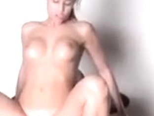 Gorgeously beautiful brunette sucks and gets fucked