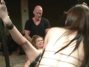 Audrey Rose enjoying punishment