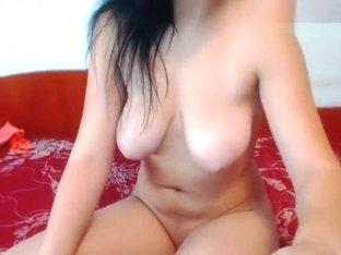 Naked brunette Ladyfoxc