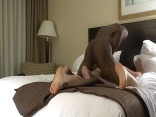 Hot Wife Fucks Huge BBC In Hotel While Hubby Is at Home