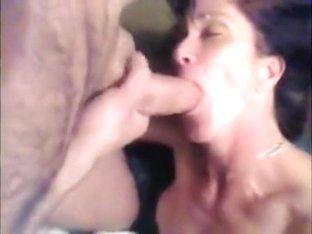 nasty dark brown hair mamma swallows huge 10-Pounder