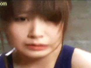 Cum Eating Japanese Swimsuit Lady