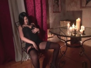 Horny pornstar Madison Parker in exotic brazilian, lingerie porn clip