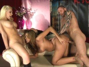 Hottest pornstar Ryan Keely in Incredible Threesomes, Dildos/Toys xxx scene