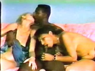 Back-In-The-Day Non-Professional Interracial Fuckfest