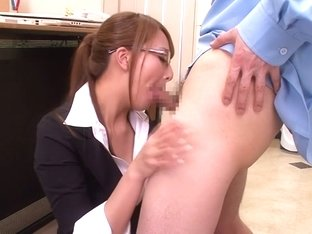 Horny Japanese slut Jessica Kizaki in Exotic JAV censored Fetish, Blowjob scene