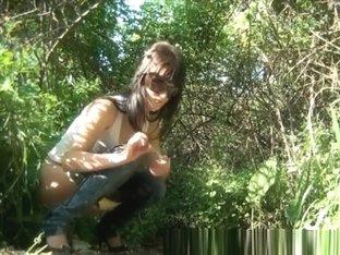 outdoor pee pee