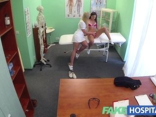 FakeHospital Dirty doctor and naughty nurse both pleasure