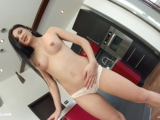 Allinternal Classy brunette gets fucked good in a few positions before recieveing a chunk of sperm.